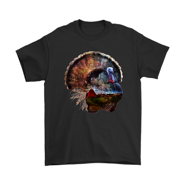Turkey T-Shirt - Animal Face T-Shirt