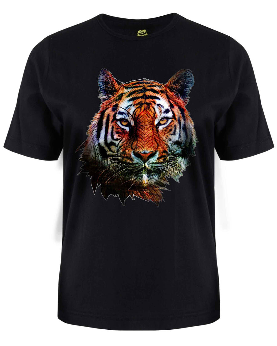 Tiger T-Shirt - Animal Face T-Shirt