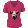 Cow Women T-Shirt - Animal Face T-Shirt