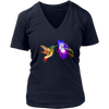 Hummingbird Women T-Shirt - Animal Face T-Shirt