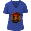 Lion Women T-Shirt - Animal Face T-Shirt