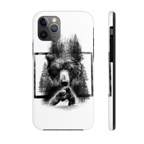 Bear Fighting Case Mate Tough Phone Cases