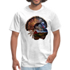 Turkey t-shirt - Animal Face T-Shirt - light heather grey