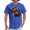 Turkey t-shirt - Animal Face T-Shirt - royal blue
