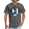 Penguin Men's T-Shirt - charcoal