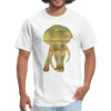 Bull Elephant Men's T-Shirt - white