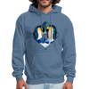 Penguin Men's Hoodie - denim blue
