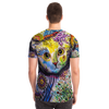 Cat All over print Unisex t-shirt
