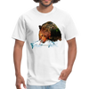 Grizzly eating t-shirt - Animal Face T-Shirt - white
