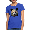 Panda Women's T-Shirt - royal blue