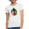 Wolf face Women's T-Shirt - white