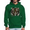 Tiger Men's Hoodie - forest green