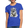 Polar Bear Women's T-Shirt - royal blue
