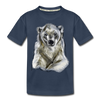 Polar bear Kid's Premium Organic T-Shirt - navy