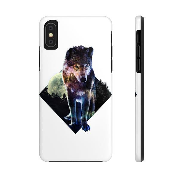 Wolf Case Mate Tough Phone Cases