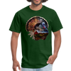 Turkey t-shirt - Animal Face T-Shirt - forest green