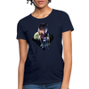 Young wolf Women's T-Shirt - navy