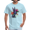 Flying Hummingbird Men's T-Shirt - powder blue