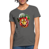 Watercolor Tiger Women's T-Shirt - charcoal