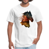 Horse t-shirt - Animal Face T-Shirt - white