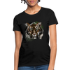 Tiger Women's T-Shirt - black
