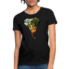 Elephant Women's T-Shirt - black