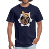 Cat with eyes Men's T-Shirt - navy
