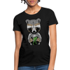 Racoon Women's T-Shirt - black