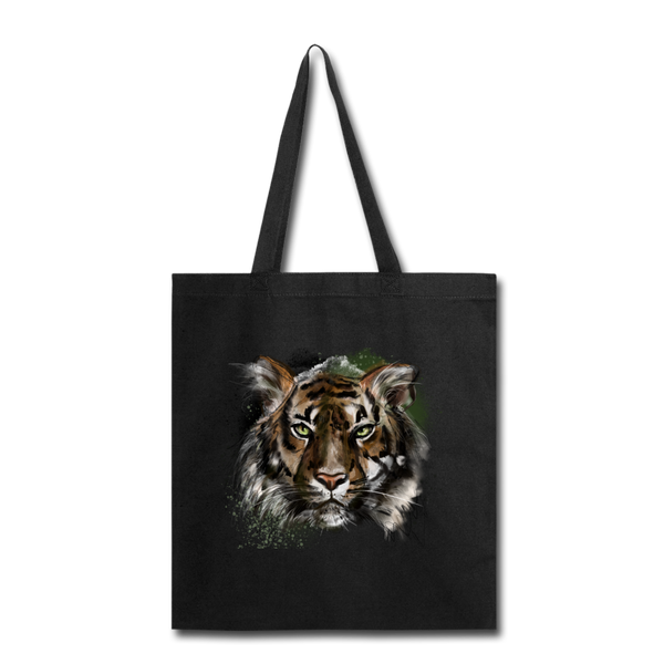 Tiger Tote Bag - black