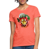 Watercolor Tiger Women's T-Shirt - heather coral