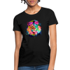 Lion with mane Women's T-Shirt - black