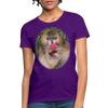 Mandrill Monkey Women's T-Shirt - purple