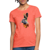 Rabbit Women's T-Shirt - heather coral