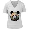 Panda Women T-Shirt - Animal Face T-Shirt