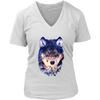 Wolf Women T-Shirt - Animal Face T-Shirt