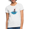 Jumping shark Women's T-Shirt - white