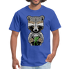 Racoon Men's T-Shirt - royal blue