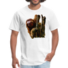 Sloth t-shirt - Animal Face T-Shirt - white