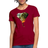 Elephant Women's T-Shirt - dark red