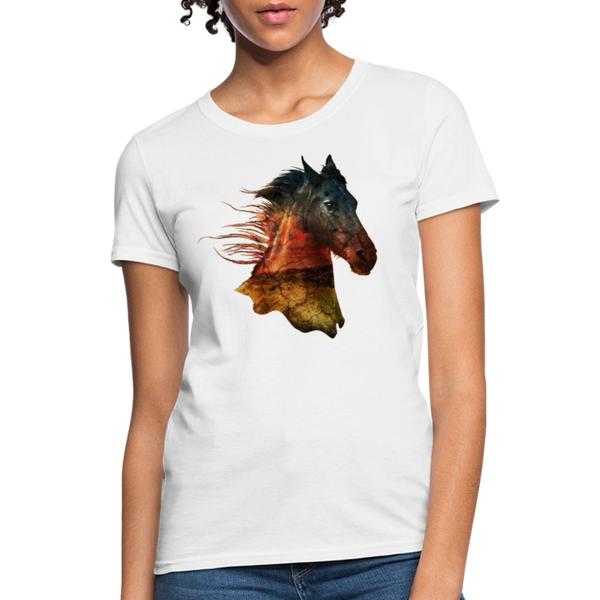Horse Women's T-Shirt - white