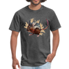 Mouse t-shirt - Animal Face T-Shirt - heather black