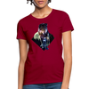 Young wolf Women's T-Shirt - dark red