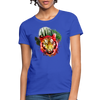 Watercolor Tiger Women's T-Shirt - royal blue