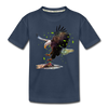 Eagle Kid's Premium Organic T-Shirt - navy