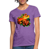 Snake Women's T-Shirt - purple heather