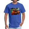 Chilling Kangaroo t-shirt - royal blue