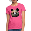 Panda Women's T-Shirt - heather pink