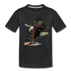 Eagle Kid's Premium Organic T-Shirt - black