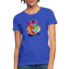 Lion with mane Women's T-Shirt - royal blue