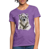 Polar Bear Women's T-Shirt - purple heather